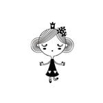 Fancy Pants Designs - Childish Things Collection - Clear Acrylic Stamps - Princess