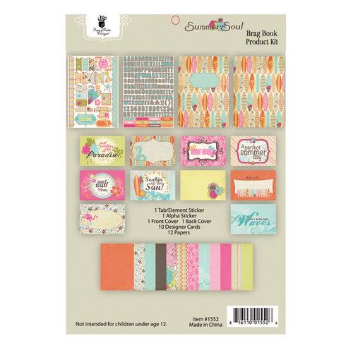 Fancy Pants Designs - Summer Soul Collection - Brag Book Kit