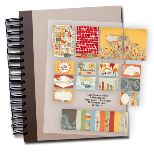 Fancy Pants Designs - Wave Searcher Collection - Brag Book Combo Kit