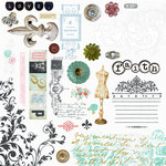 Fancy Pants Designs - Road Show Collection - Rub Ons