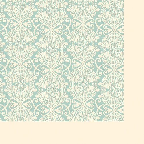 Fancy Pants Designs - Its Time for Spring Collection - 12 x 12 Double Sided Paper - Ruffles