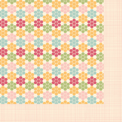 Fancy Pants Designs - Its Time for Spring Collection - 12 x 12 Double Sided Paper - Sweetner