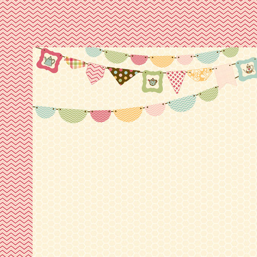 Fancy Pants Designs - Its Time for Spring Collection - 12 x 12 Double Sided Paper - Short Stout