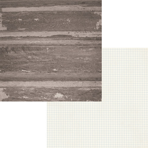 Fancy Pants Designs - Country Boutique Collection - 12 x 12 Double Sided Paper - Barn Door