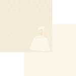 Fancy Pants Designs - Country Boutique Collection - Wedding Series - 12 x 12 Double Sided Paper - Bride