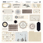 Fancy Pants Designs - Country Boutique Collection - 12 x 12 Cardstock Die Cuts