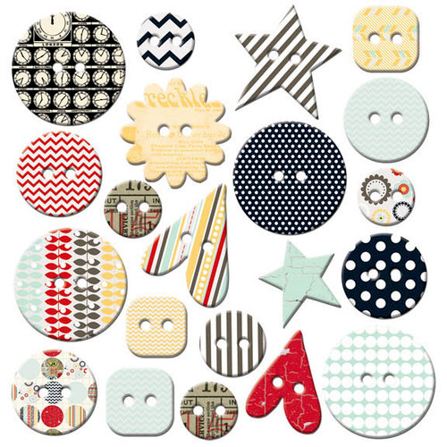 Fancy Pants Designs - The Good Life Collection - Mingled Buttons