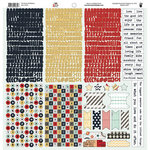 Fancy Pants Designs - The Good Life Collection - 12 x 12 Cardstock Stickers - Fundamentals