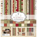 Fancy Pants Designs - Home for Christmas Collection - 12 x 12 Paper Kit