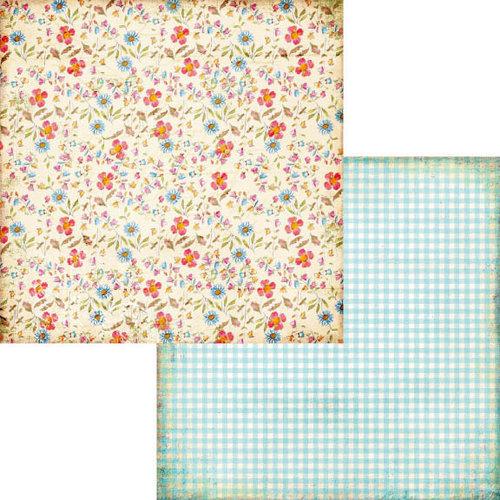 Fancy Pants Designs - Hopscotch Collection - 12 x 12 Double Sided Paper - Sidewalk