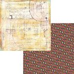 Fancy Pants Designs - Hopscotch Collection - 12 x 12 Double Sided Paper - Seamstress