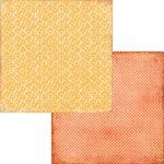 Fancy Pants Designs - Hopscotch Collection - 12 x 12 Double Sided Paper - Butternut