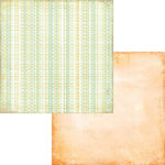 Fancy Pants Designs - Hopscotch Collection - 12 x 12 Double Sided Paper - Puddle