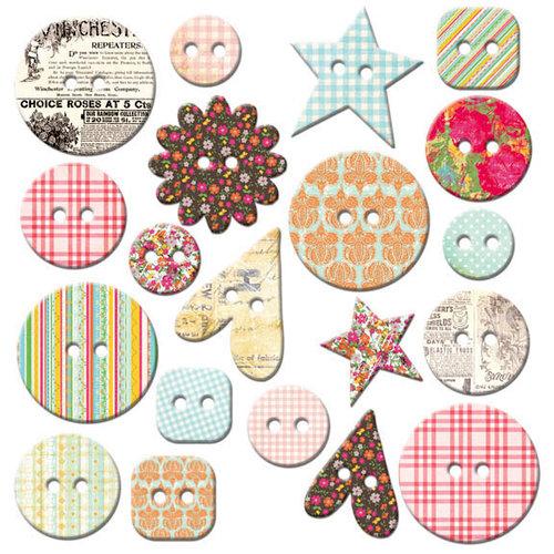 Fancy Pants Designs - Hopscotch Collection - Mingled Buttons