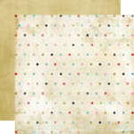 Fancy Pants Designs - Road Show Collection - 12 x 12 Double Sided Paper - Delicate Dots, CLEARANCE