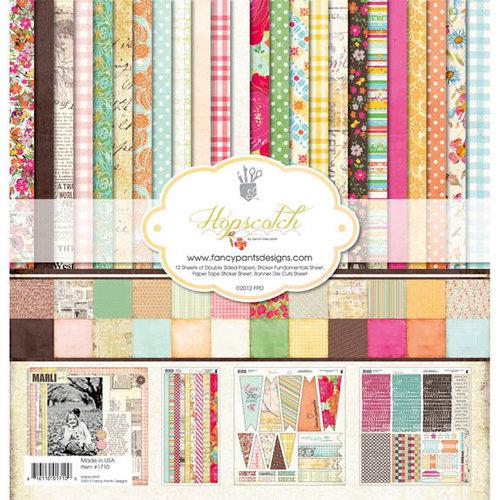 Fancy Pants Designs - Hopscotch Collection - 12 x 12 Paper Kit