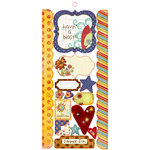 Fancy Pants Designs - Rusted Sun Collection - Cardstock Stickers - Element