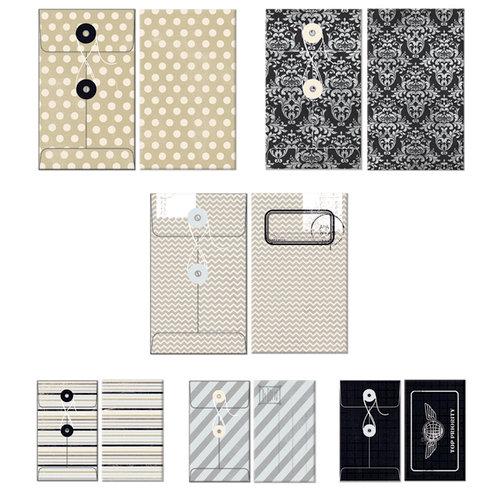 Fancy Pants Designs - Etcetera Collection - Patterned Envelopes
