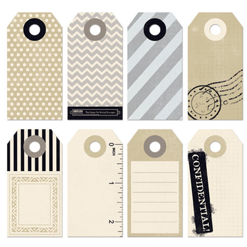 Fancy Pants Designs - Etcetera Collection - Decorative Tags