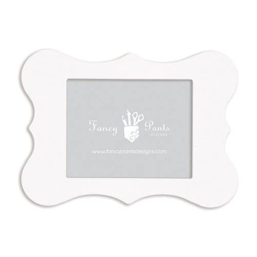 Fancy Pants Designs - 8 x 10 Frame - Bracket - Naked White
