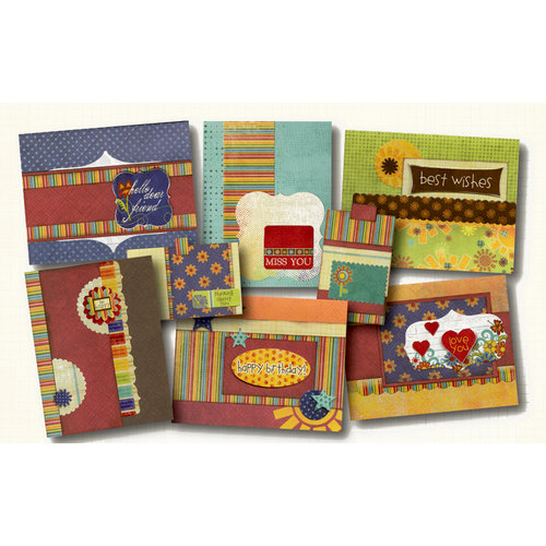 Fancy Pants Designs - Rusted Sun Collection - Card Kit