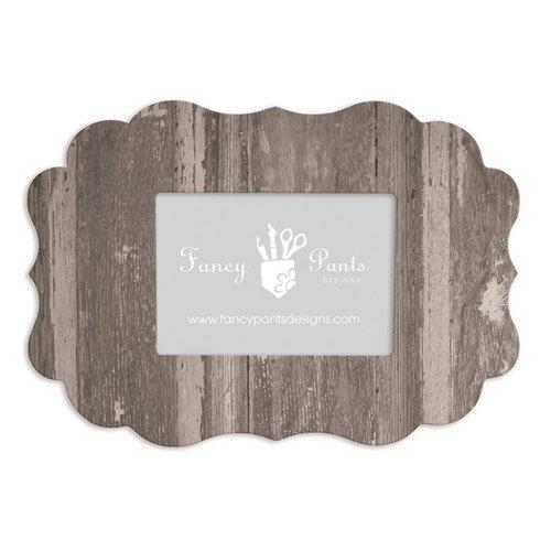 Fancy Pants Designs - 5 x 7 Frame - Scallop Bracket - Barn Door