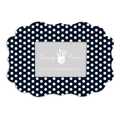 Fancy Pants Designs - 5 x 7 Frame - Scallop Bracket - Polka Dot