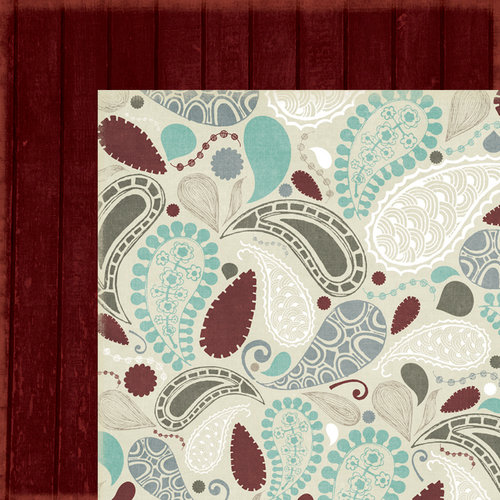 Fancy Pants Designs - Blissful Blizzard Collection - 12 x 12 Double Sided Paper - Whisp