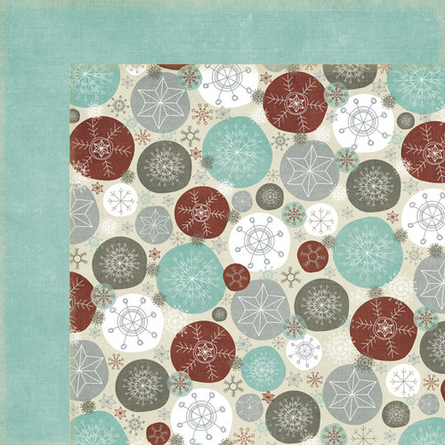 Fancy Pants Designs - Blissful Blizzard Collection - 12 x 12 Double Sided Paper - Sparkly Morn