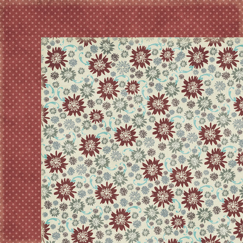 Fancy Pants Designs - Blissful Blizzard Collection - 12 x 12 Double Sided Paper - Ice Crystals