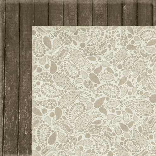 Fancy Pants Designs - Blissful Blizzard Collection - 12 x 12 Double Sided Paper - Bunkhouse