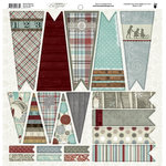 Fancy Pants Designs - Blissful Blizzard Collection - 12 x 12 Cardstock Die Cuts - Banner