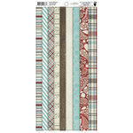 Fancy Pants Designs - Blissful Blizzard Collection - Cardstock Stickers - Tape
