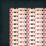 Fancy Pants Designs - Love Note Collection - 12 x 12 Double Sided Paper - Be Mine