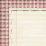 Fancy Pants Designs - Love Note Collection - 12 x 12 Double Sided Paper - Love Post