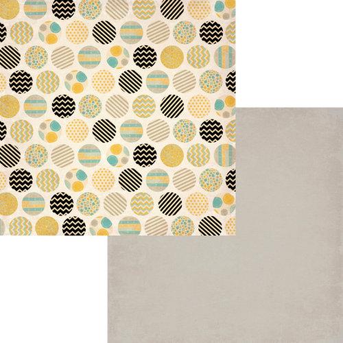 Fancy Pants Designs - Park Bench Collection - 12 x 12 Double Sided Paper - Conversation