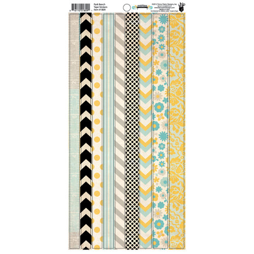 Fancy Pants Designs - Park Bench Collection - Cardstock Stickers - Tape