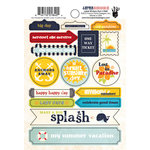 Fancy Pants Designs - Down by the Shore Collection - Cardstock Stickers - Labels