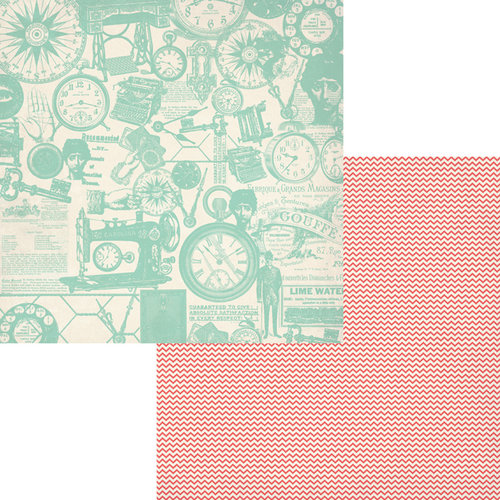 Fancy Pants Designs - Trend Setter Collection - 12 x 12 Double Sided Paper - Classy