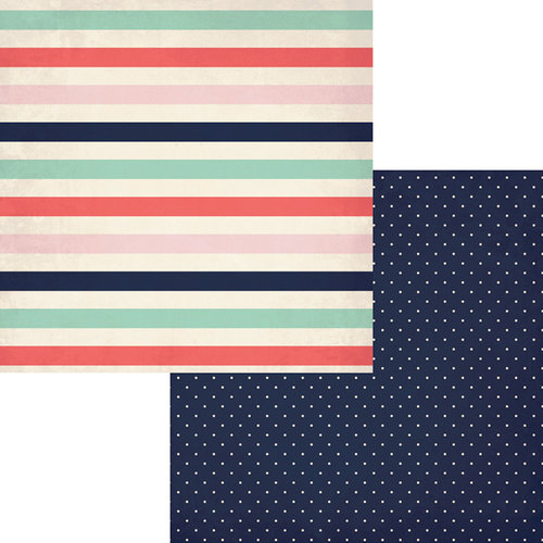 Fancy Pants Designs - Trend Setter Collection - 12 x 12 Double Sided Paper - Glamorous
