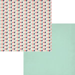 Fancy Pants Designs - Trend Setter Collection - 12 x 12 Double Sided Paper - Vogue