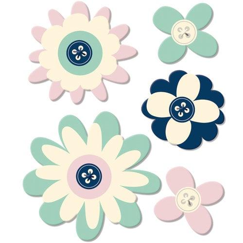 Fancy Pants Designs - Trend Setter Collection - Felt Flowers