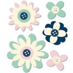 Fancy Pants Designs - Trend Setter Collection - Felt Flowers