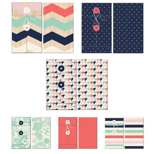 Fancy Pants Designs - Trend Setter Collection - Patterned Envelopes