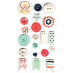 Fancy Pants Designs - Trend Setter Collection - Button Set