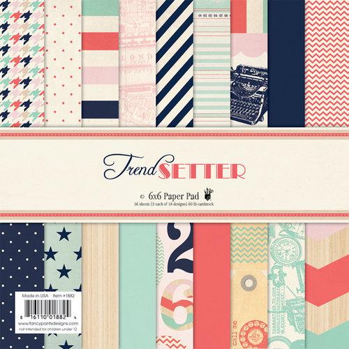 Fancy Pants Designs - Trend Setter Collection - 6 x 6 Paper Pad