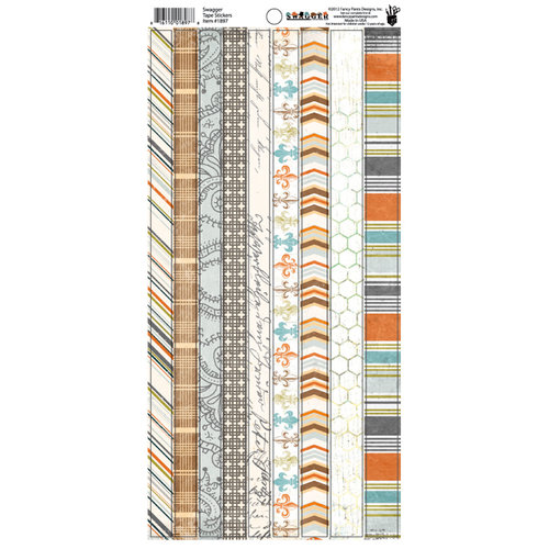 Fancy Pants Designs - Swagger Collection - Cardstock Stickers - Tape