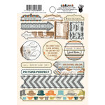 Fancy Pants Designs - Swagger Collection - Cardstock Stickers - Labels