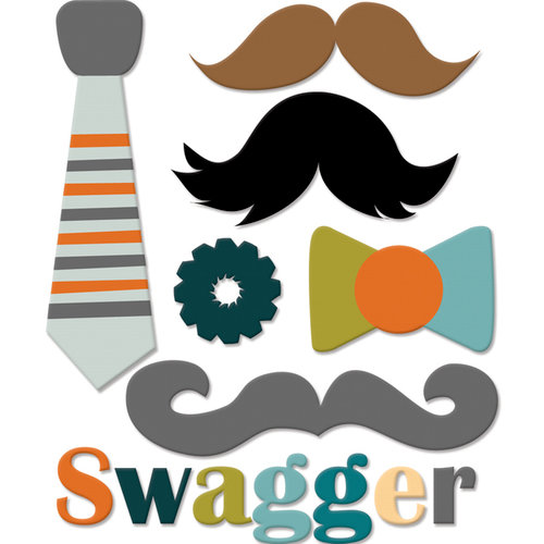 Fancy Pants Designs - Swagger Collection - Felt Pieces