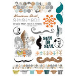Fancy Pants Designs - Swagger Collection - Rub Ons